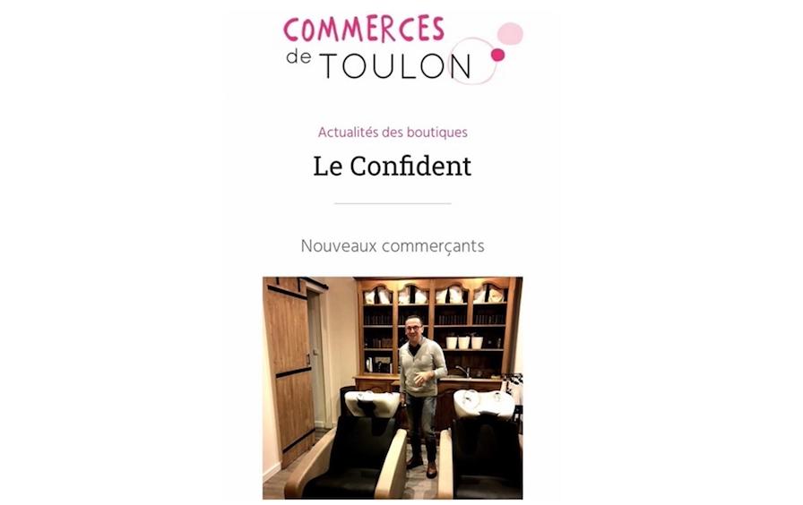 Le Confident x Les Vitrines de Toulon